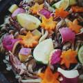 いかと秋野菜の炊き込みごはん
